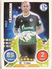 Match Attax 2016/17 Bundesliga - #289 Ralf Fährmann - FC Schalke 04