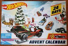 Hot Wheels Calendario de Adviento 2019 Mattel Juguete Coches