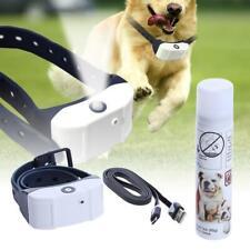 Stop Barking Rechargeable Citronella Dog Collar Anti Bark Train Mist Spray /ND