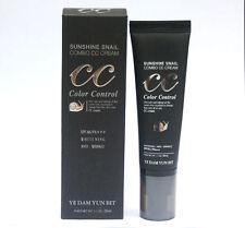 [YEDAM YUN BIT] Sunshine Snail Combo CC CREAM (SPF40 / PA+++) / Korea Cosmetics