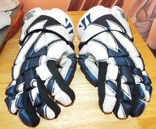 "Chesapeake Bayhawks Used Pro Lacrosse Gloves ""Wrath"". Rare Find!"