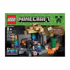 (NEW SEALED) MINECRAFT LEGO SET 21119 THE DUNGEON KIDS BUILDING PLAYSET