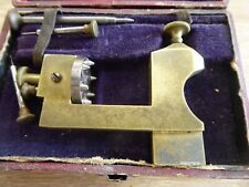 ANTIQUE WATCHMAKERS POISING TOOL / LATHE