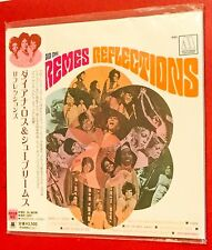 V RARE DIANA ROSS AND THE THE SUPREMES CARD JAPANESE CD ALBUM REFLECTIONS +OBI