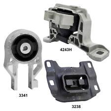 Engine Motor & Auto Trans. Mount 3Pcs Set for Ford Focus 2.0L SE, S, Titamium