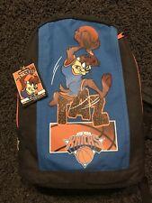 Vintage 90s NBA Looney Tunes Warner Bros Taz New York Knicks Back Pack Rare Bag