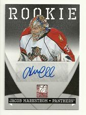 2010-11 Panini Zenith ELITE ROOKIE Autograph sp  JACOB MARKSTROM  serial  #94/99