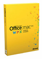 Microsoft Office 2011 Home and Student Mac - No Subscription Fees!!!