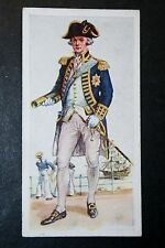 Royal Navy   Admiral of the Fleet     Vintage 1930's  Colour Card   VGC