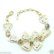 14k Gold Filled GF enamel bangle bracelet