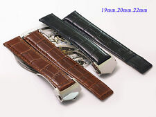 Genuine Leather Band.Strap.bracelet,22,20,or 19mm fits TAG HEUER monaco CARRERA