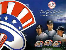 Official Licensed NY Yankees 2007 Pin Collection