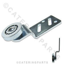 RO02 HOT PLATE CUPBOARD SLIDING HANGING DOOR ROLLER BEARING OFFSET ANGLED VICTOR