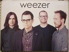 Weezer 2014 Alright In The End 2 Sided Promotional Poster ~New~Mint Condition~!