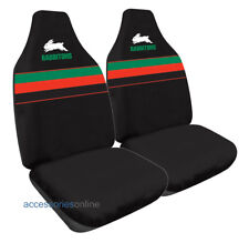 SOUTH SYDNEY RABBITOHS Official NRL Car Seat Covers Airbag Compatible *NEW*
