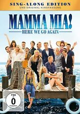 Mamma Mia 2 ! Here We Go Again - Sing Along Edition + Kinofassung # DVD-NEU