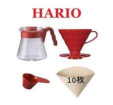 Hario V60 Coffee Sever Set VCSD-02R 02 Red Japan