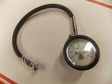 New 0 to 60 psi Tire Pressure Gauge w Air Check Valve