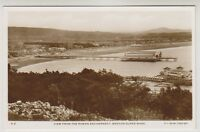 Somerset postcard - View from the Roman Encampment, Weston Super Mare - RP