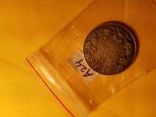 Canada 1912 25 Cent Rare Silver Coin ID#A24.