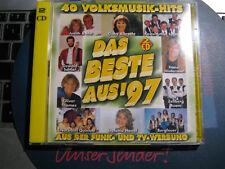 DCD - VOLKSMUSIK - Das Beste aus 1997 - ua. Kastelruther/Zillertaler/T.Parker