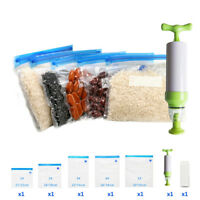 Manual Vacuum Sealer 5pcs/set Vacuum Bag Hand Pump Handheld Food Vacuum Sealer