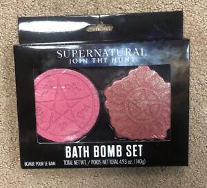 Supernatural Devils Trap Anti-Possession Symbols Bath Bomb Set