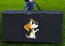 """Cornhole Board Carrying Case Bag Tote Bag 48.5"""" x 24.5"""" With Clever Dog Print"""