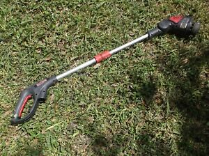 "Craftsman 138.74503 12"" String Trimmer No Handle guard Spool Or Cap sn 0490144"