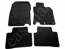 Nissan Qashqai Mk2 Tailored Carpet Car Mats 2014 onwards Black 4pc Mat Set