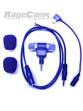 Stereo Mic Windscreen Right Angled Microphone Plug FOR GOPRO HERO4 BLACK CAMERA