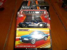 MATCHBOX 1/64 BEST OF SERIES 1 BLUE 1993 FORD MUSTANG LX SSP