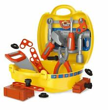 Kids Mini Engineer Play Set Role Pretend Play Construction Toolbox Suitcase Kit