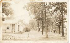 Near Cumberland MD * Shipways Inn Cottages RPPC 1937 US Rt. 40