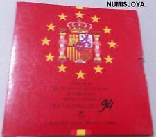 España 1994. Coleccion de Monedas de PESETAS de Curso Legal de la FNMT.