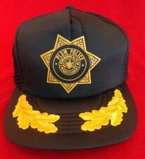 Vintage Plum Police Commonwealth of Pennsylvania Snapback Trucker Mesh Cap Hat