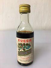 Mignon Miniature Elixir Rabarbaro Zucca 4cl 16% Vol Vintage A.