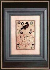 Red Bird Fraktur - Knotted Tree NeedleArt  New Chart