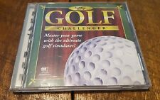 Softkey: Golf Challenger PC CD-ROM for MS-DOS 1995 Windows 3.1 - 95