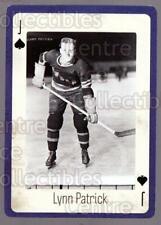 2005 New York Rangers Legends Playing Card #11 Lynn Patrick