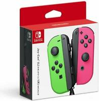 Nintendo Switch Joy Con Neon Pink/Green Left and Right Brand New w/Tracking# JP