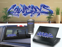 Dallas Cowboys Graffiti Vinyl Vehicle Car Laptop Wall Sticker Decal