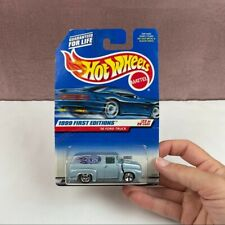 Hot Wheels Mattel 1956 Ford Truck 1999 First Edition New
