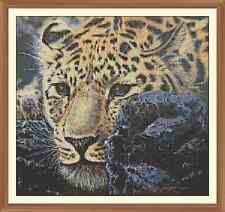Leapard 1 Cross Stitch Chart  x 11.2 x 12.0Inches