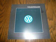 1988 Vw Volkswagen Golf Gl Jetta Gti Scirocco Quantum Vanagon Sales Brochure