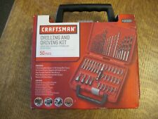 Craftsman 50 pc Drill and Driving Bit Set, Kit 30333