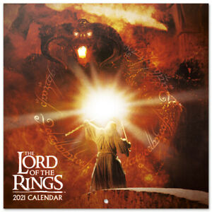 Lord Of The Rings (Free Poster) Official Calendar 2021