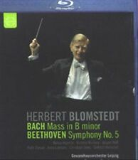 USED (LN) Herbert Blomstedt conducts Bach & Beethoven [Blu-ray] (2012)