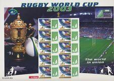 AUSTRALIEN - 2003 AUSTRALIA IRB RUGBY WORLD CUP BOGEN **