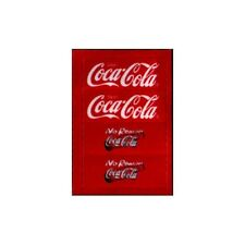 LEGO 4701 - Studios Jurassic Park III Coca Cola Promotional Set - STICKER SHEET